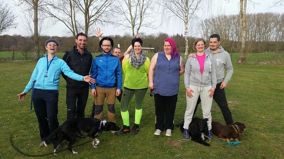 80ies Hundefrisbee Funturnier in Dreieich-Sprendlingen
